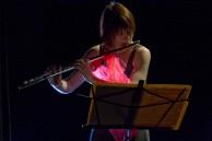 Patricia Julien w flute photo by Lindsay Raymondjack