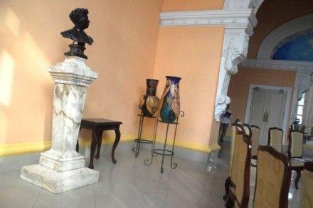 Sala White de Matanzas busto de Jose White