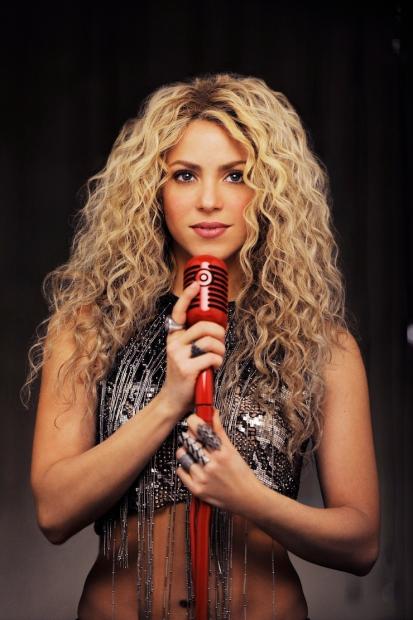 Shakira c su mic 1