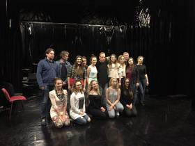 Yaron Gershovsky with his students at Ths Zachor Fest Workshop 2017