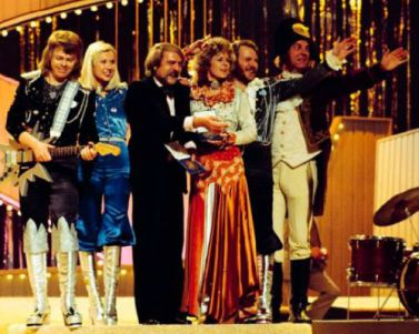 ABBA-on-stage w Stig A & conductor