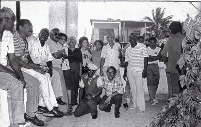 Bailadores de Santa Amalia 5 casa de Gilbert Sta Amalia Barrio