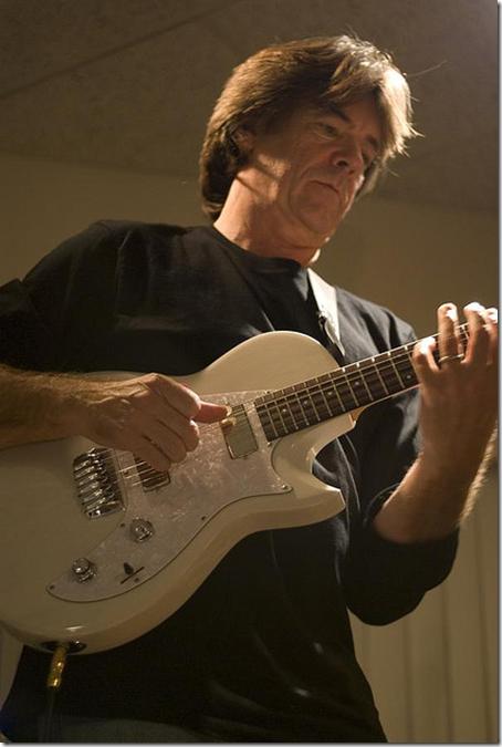 Guitarist Wayne Johnso...