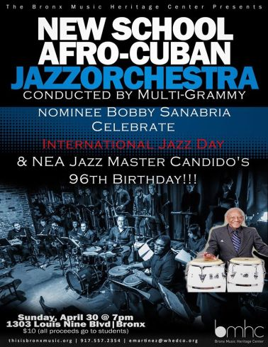 Bobby Sanabria Int Day of Jazz 2017 1