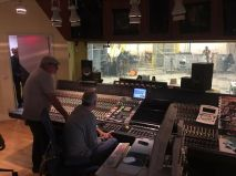 Nicolas Sirgado y Johannes Wohleben en Bauer Studios Ludwisburg Alemania