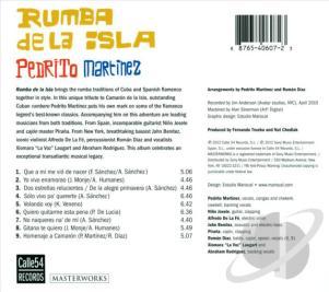 Pedrito Martinez CD Calle 54 Records 2012