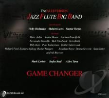 The Ali Ryerson Jazz Flute Big Band CD cover 1