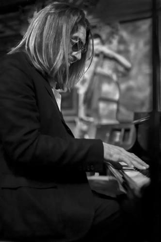 Tony Perez at the piano