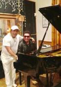 Tony Perez con Giovanni Hidalgo