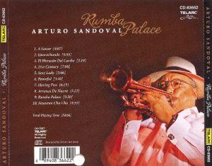 Tony Perez in Arturo Sandoval's Rumba Palace CD back cover