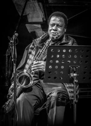 Wayne Shorter b n w new