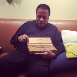 Wayne Shorter gets the keys of The City of Newark