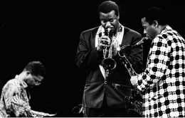 Wayne Shorter w H Hancock and Wallace Roney
