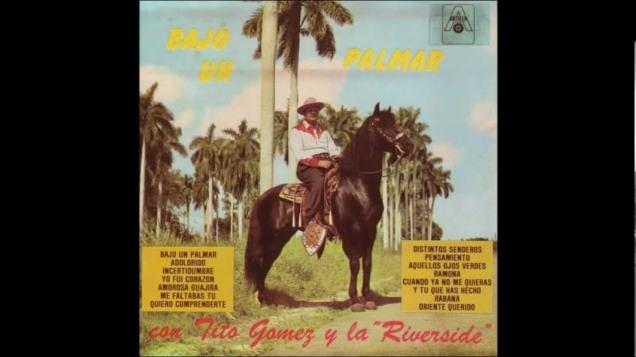 Tito Gomez a caballo c la Riverside