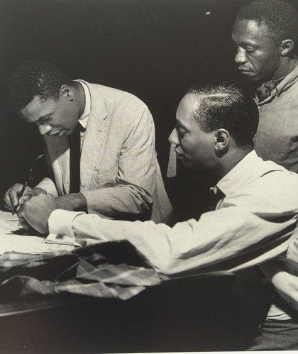 Wayne Shorter w Jymie Merrit & Art Blakey in 1960