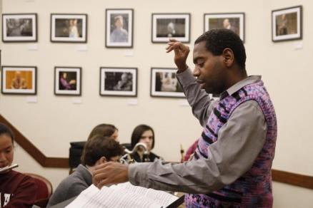 Yosvany Terry conducting 2