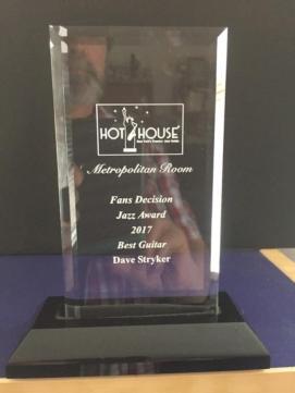 Dave Stryker Best Guitarist 2017 Fans Decision Public Award