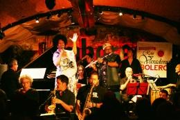 Telva Rojas y Jose Luis Cortes en el Jazz Jambouree de Barcelona