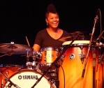 Yissy Garcia on drums 4 new
