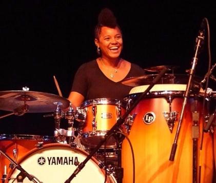 Yissy Garcia on drums 4 new