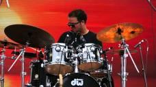 Amed Michel baterista cubano residente en Toronto Canada c Jane Bunnett en Panamian