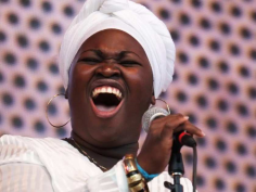 Jane Bunnet and Maqueque's singer Danae Arocena