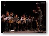 Joaquin Betancourt conducts La Joven Jazz Band
