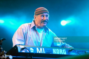 The Hague/HOLLAND, North Sea Jazz, JULY 8, 2005 Keyboard player Joe Zawinul (photo by Frans Schellekens/Redferns)