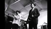 Miles Davis y John Coltrane en el Teatro Olimpia de Paris 1960