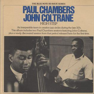 Paul Chambers and John Coltrane album High Step