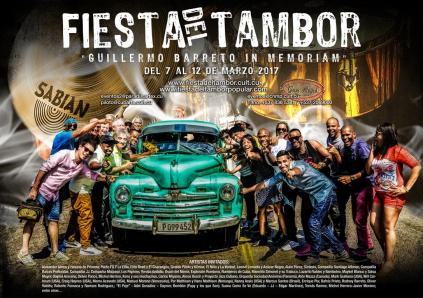 Cartel Tambor 2017 (Medium)