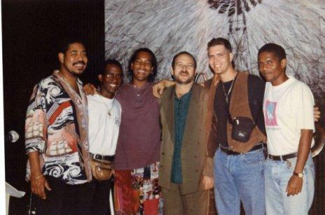 Cuban Drummers E Sympson J Barreto R Pineda E Pla Jimmy Braly & Ramses R in 2010