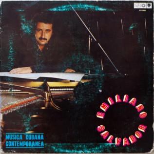 Emiliano Salvador LP Nueva Vision a landmark of Modern Cuban Jazz
