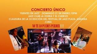 FAMILIA FUENTES ALDAMA en el Jazz Plaza 2018
