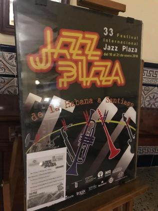 Jazz Plaza Enero 2018 de Omar R Calvo