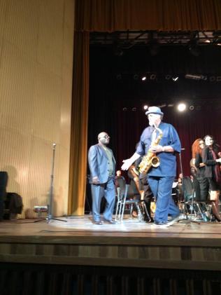 Joe Lovano y la Joven Jazz Band de J Betancourt Enero 2018