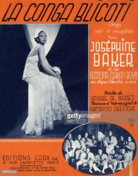 Josephine Baker et les Lecuona Cuban Boys in Paris