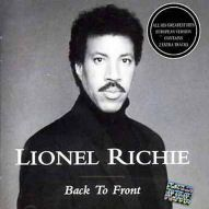 Lionel Richie CD Back to front