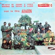 Orquesta Aragon LP Cojale el gusto a Cuba front y frutas