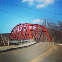 Richmond Bridge where we filmed our TV show intro