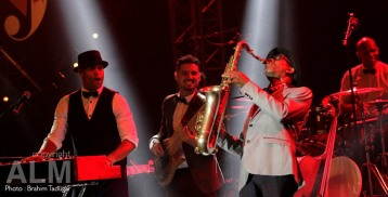 Roberto Fonseca feat Rafael James on tenor sax