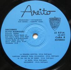 Silvio Rodriguez LP Unicornio Cara B a Roque Dalton