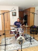 The New England Party Crashers drummer Thomas Ellison 1