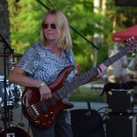 The Party Crashers bassist Kristin Partch in 2016