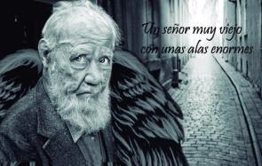 Un senor muy viejo con unas alas enormes 2 foto del viejo senor