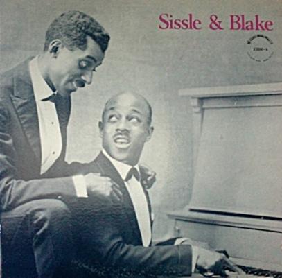 1923 Noble Sissle & pianist Eubie Blake Early Rare Recordings Vol 1