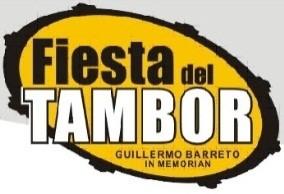 Fiesta del Tambor logo en amarillo 2018