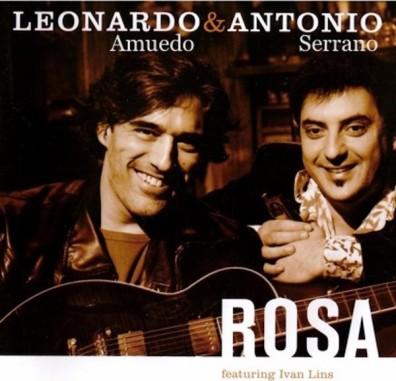 Leonardo Amuedo y Antonio Serrano con Ivan Lins