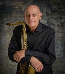 Michael Pedicin w his tenor sax