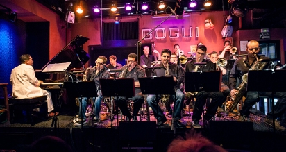 Pepe Rivero Big Band Live at Bogui Jazz in Madrid Foto Jaime Massieu